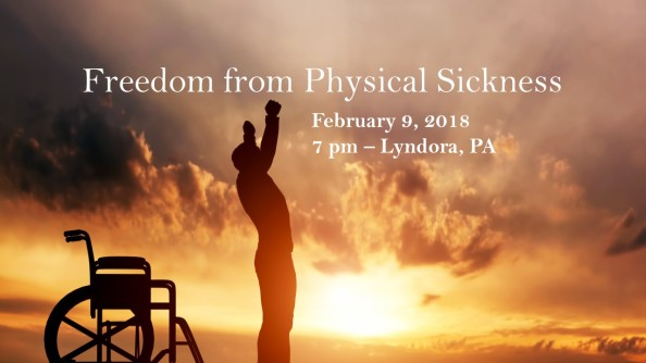 freedom from physical sickness